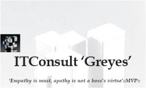 BIG BOSS - Chapter 4. ITConsult 'Greyes'